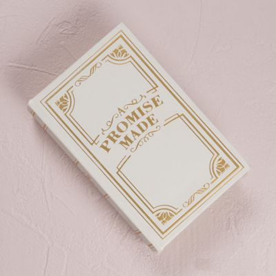 Promise Vintage Jewelry Book Box