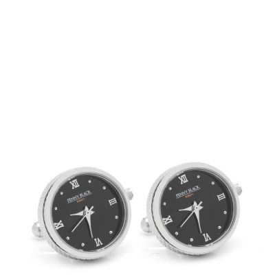Stainless Steel Functional Watch Cuff Links