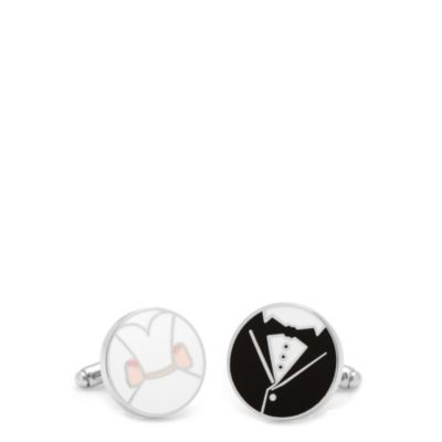 Bride & Groom Wedding Cuff Links