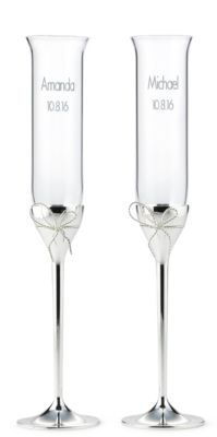 Vera Wang Love Knots Toasting Flutes