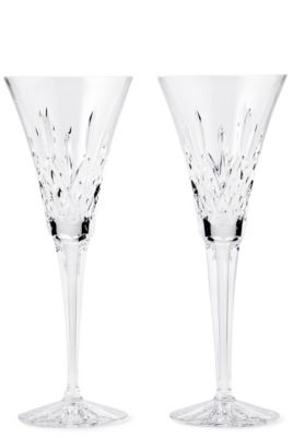 Waterford Crystal Lismore Toasting Flutes