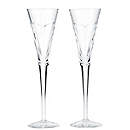Waterford Crystal Wishes Toasting Flutes - Love & Romance