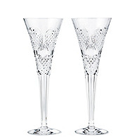 Waterford Crystal Wedding Heirloom Flutes