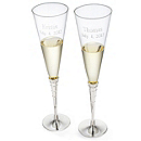Royal Toasting Flutes