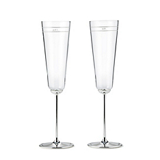 kate spade new york darling point champagne flutes