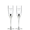 Lenox True Love Metal Toasting Flutes