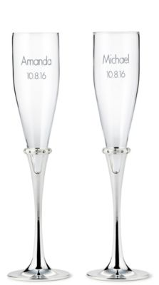 Lenox Devotion Toasting Flutes