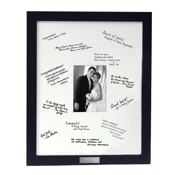 Personalized Guest Book Frame