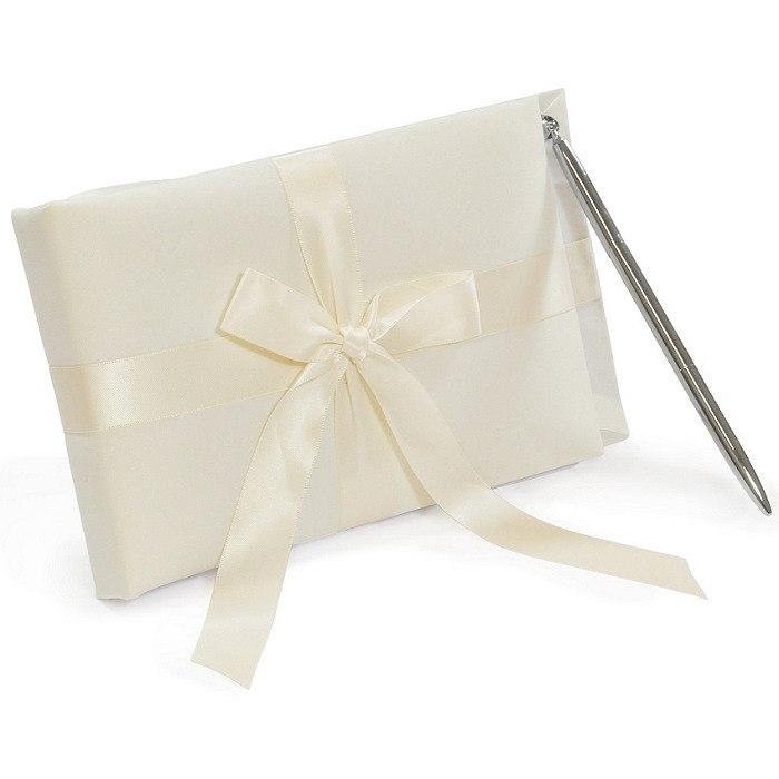 Tied with a Bow Guest Book & Pen Set