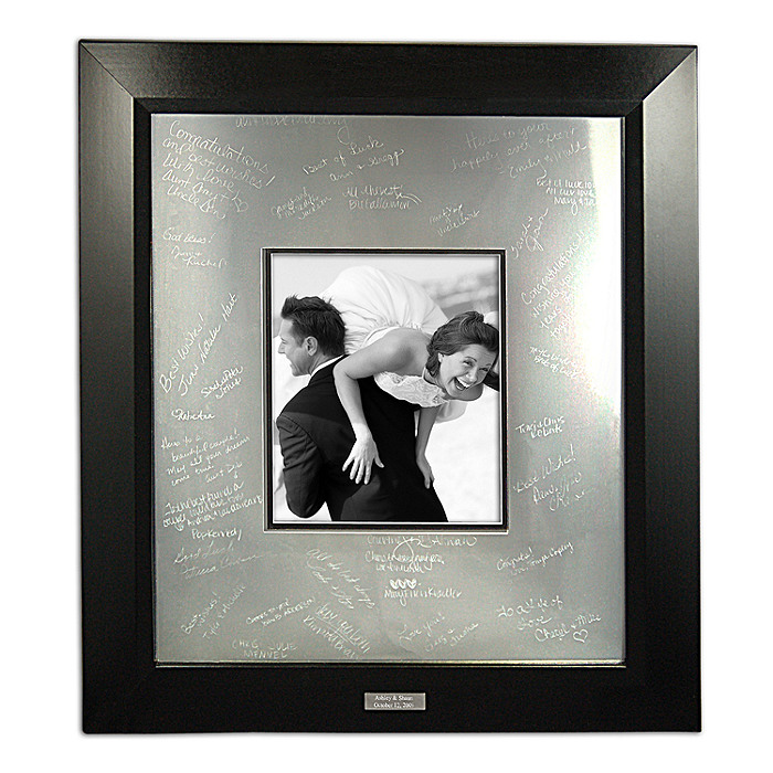 Personalized Guest Signature Frame