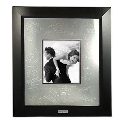 Wedding Ceremony Guest Books & Frames Personalized Guest Signature ...