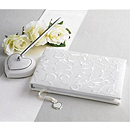 Lenox Opal Innocence Guest Book and Heart Pen Set