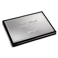 Engravable Silver Guest Book