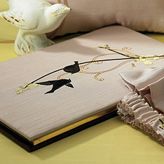 Love Birds Guest Book