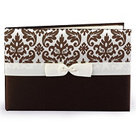 Enchanted Evening Guest Book - Mocha