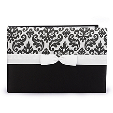 Enchanted Evening Guest Book - Black