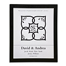 Canvas Signature Guest Book Print - Blended Family