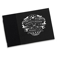 Chalkboard Personalized Guest Book