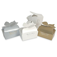 Bow Box Favor Holders