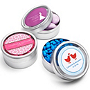 Personalized Clear Top Favor Tins