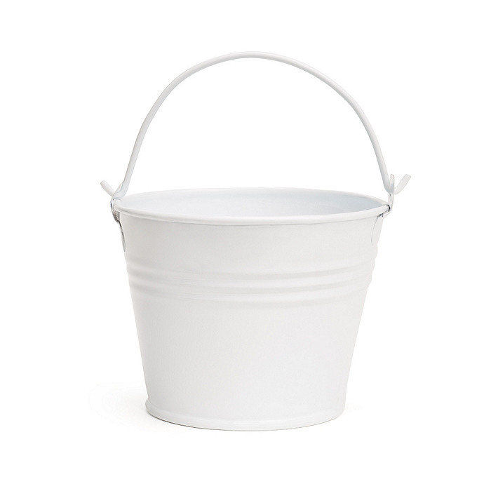 White Favor Pail