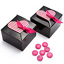 Brown Dazzling Dots Favor Boxes