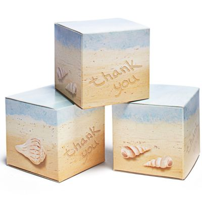 Seaside Favor Boxes