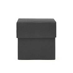 Square Favor Boxes - Black