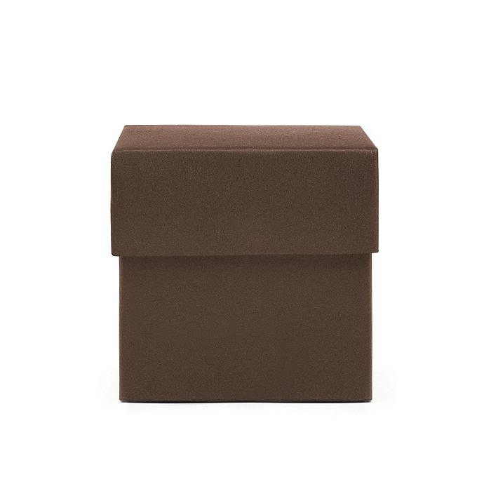 Square Favor Boxes - Espresso