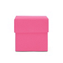 Square Favor Boxes - Fuchsia