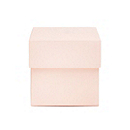 Square Favor Boxes - Pink