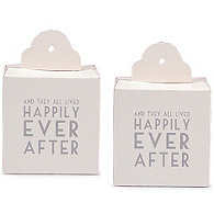 Happily Ever After Favor Boxes