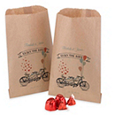 Personalized Tandem Bike Gourmet Favor Bags