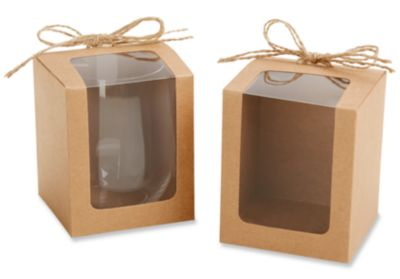 Kraft Window Favor Box