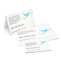 Charity Wedding Favors - Bird (Blue)