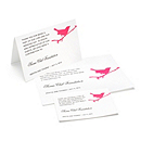 Charity Wedding Favors - Bird (Fuchsia)