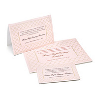 Charity Wedding Favors - Diamond (Pink)