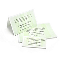 Charity Wedding Favors - Eyelet (Green)