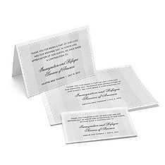 Charity Wedding Favors - Eyelet (Gray)
