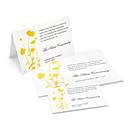 Charity Wedding Favors - Foliage (Gold)