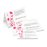 Charity Wedding Favors - Foliage (Fuchsia)