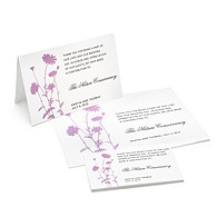 Charity Wedding Favors - Foliage (Lavender)
