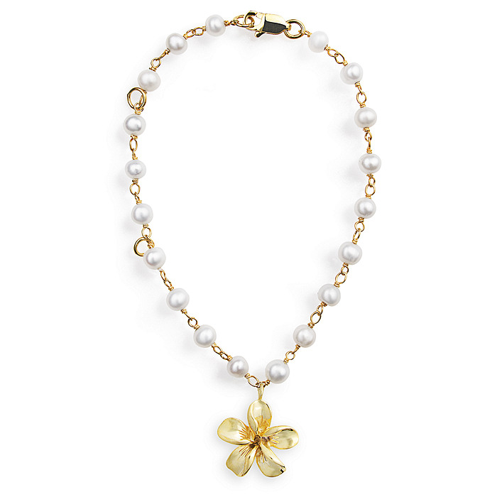 Forget-Me-Not Bracelet - Gold