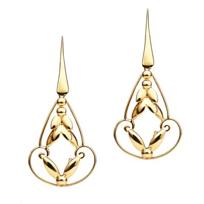 Romance Earrings - Gold