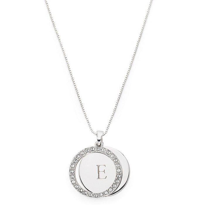 Personalized Circle Frame Necklace