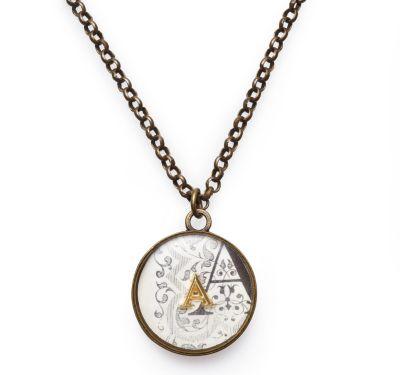 Brooke Monogram Necklace