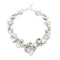 Thomas Laine White Wedding Necklace