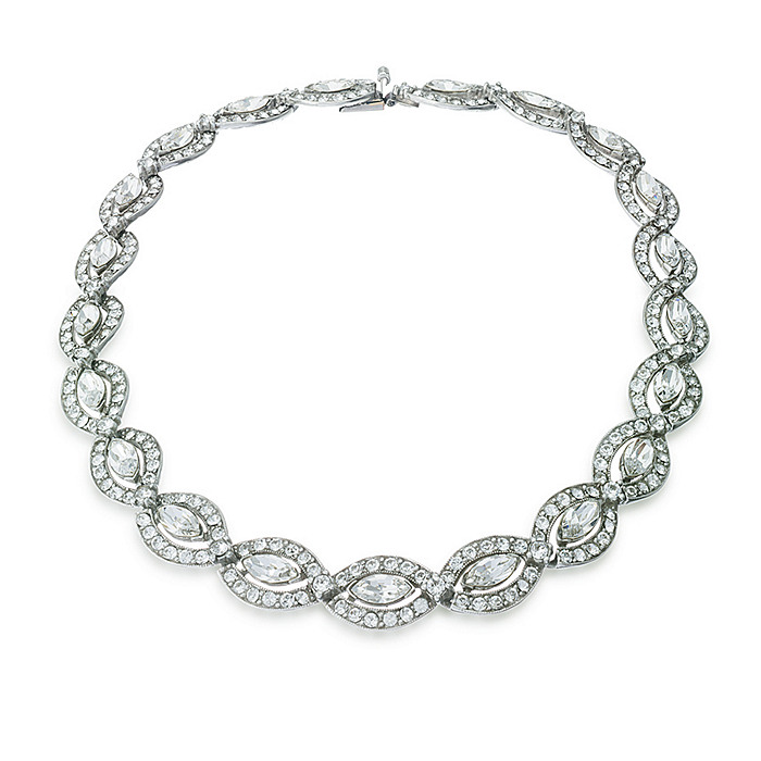 Thomas Laine Belle Epoque Crystal Necklace