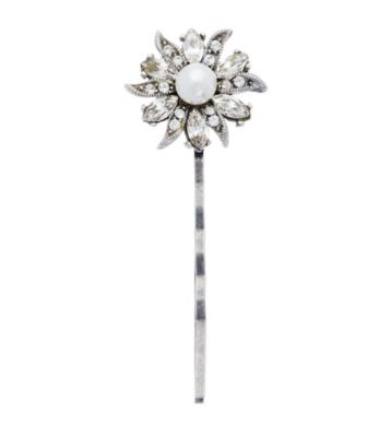 Thomas Laine Floral and Lace Hair Pin