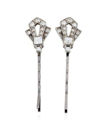 Thomas Laine Mini Gatsby Crystal Hair Pin